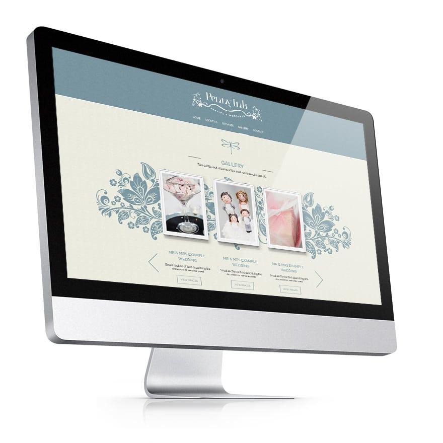 Penny Ink Responsive website design